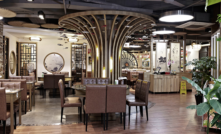 湘当丰盛中式时尚餐饮店