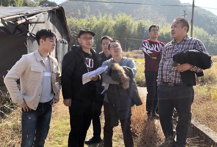 千镇文旅设计团队到韶关始兴司前镇考察