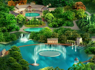 梅州山水客都石壁生态度假城