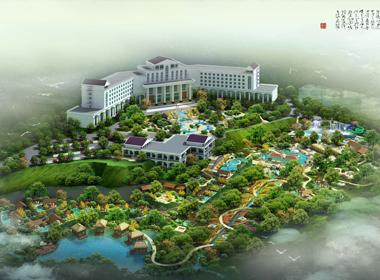 广东嘉宝田旅游度假区温泉区规划设计