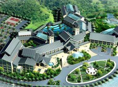 山东汤泊温泉度假区规划设计