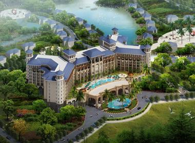 惠州温泉度假山庄规划设计