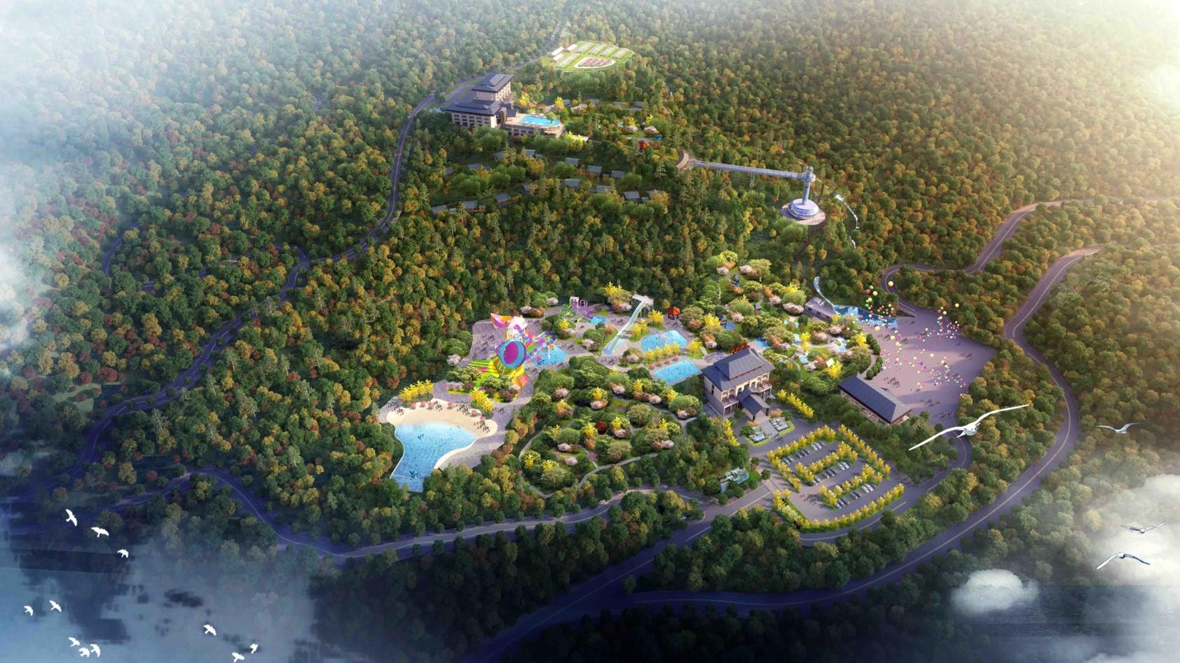 江西大龙山温泉漂流旅游度假区