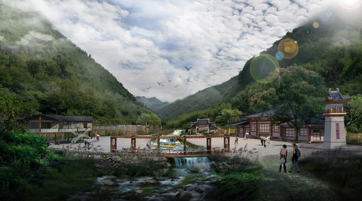 杭州富阳洞桥镇龙王峡漂流